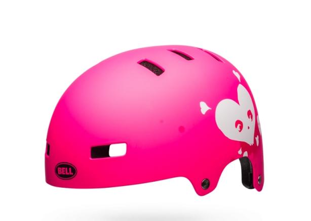 Шлем BMX детский Bell 18 BLOCK, матовый розовый  (Размер: XS)