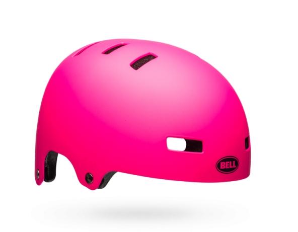 Шлем BMX детский Bell 18 BLOCK, матовый розовый  (Размер: S)