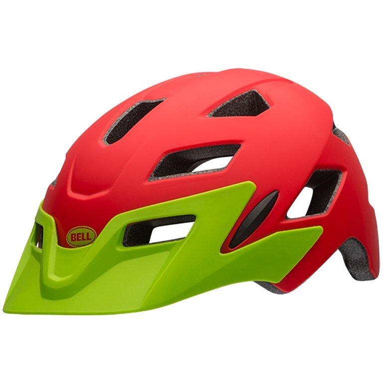 Шлем детский Bell 17 SIDETRACK, матовый красный (Размер: UС)
