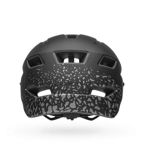 Шлем детский Bell 18 SIDETRACK, матовый черно-серебро (Размер: СU)