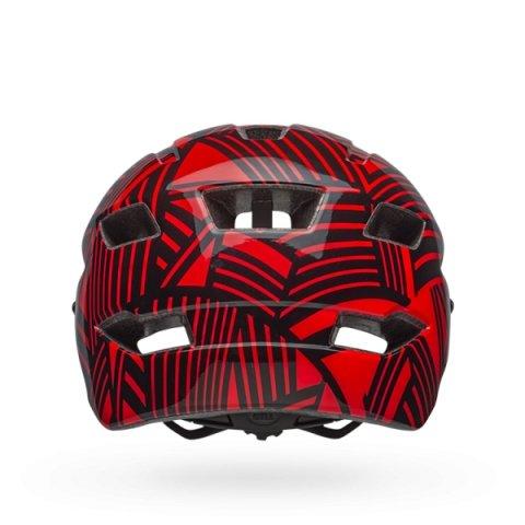 Шлем детский Bell 18 SIDETRACK, черно-красный  (Размер: СU)