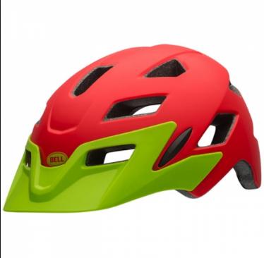 Шлем подростковый Bell 17 SIDETRACK, матовый красный  (Размер: YU)