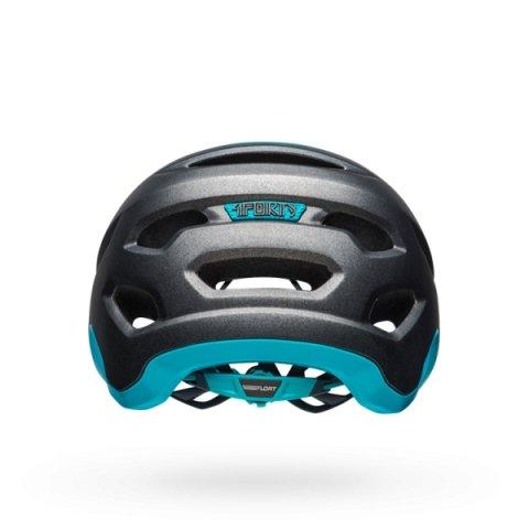 Шлем велосипедный Bell 18 4FORTY MTB, универсальный, матовый темно серо-синий (Размер: S)