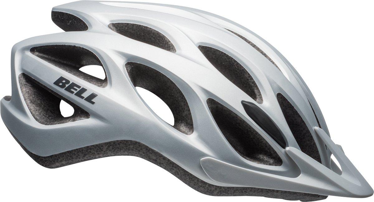 Шлем велосипедный Bell 17 TRACKER, универсальный, матовый серебряный  (Размер: ЕU)