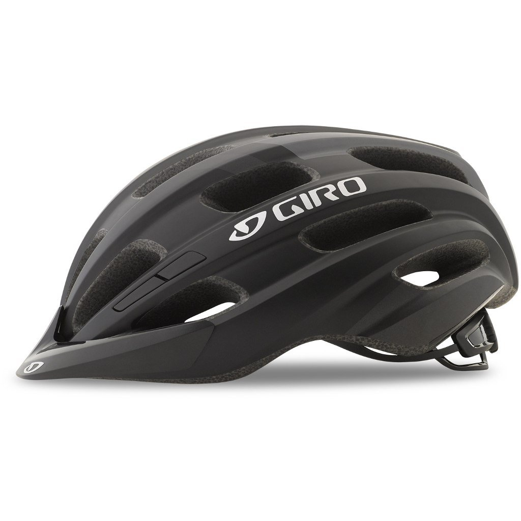 Шлем велосипедный Giro 18 HALE MTB, универсальный, матовый черный (Размер: U)