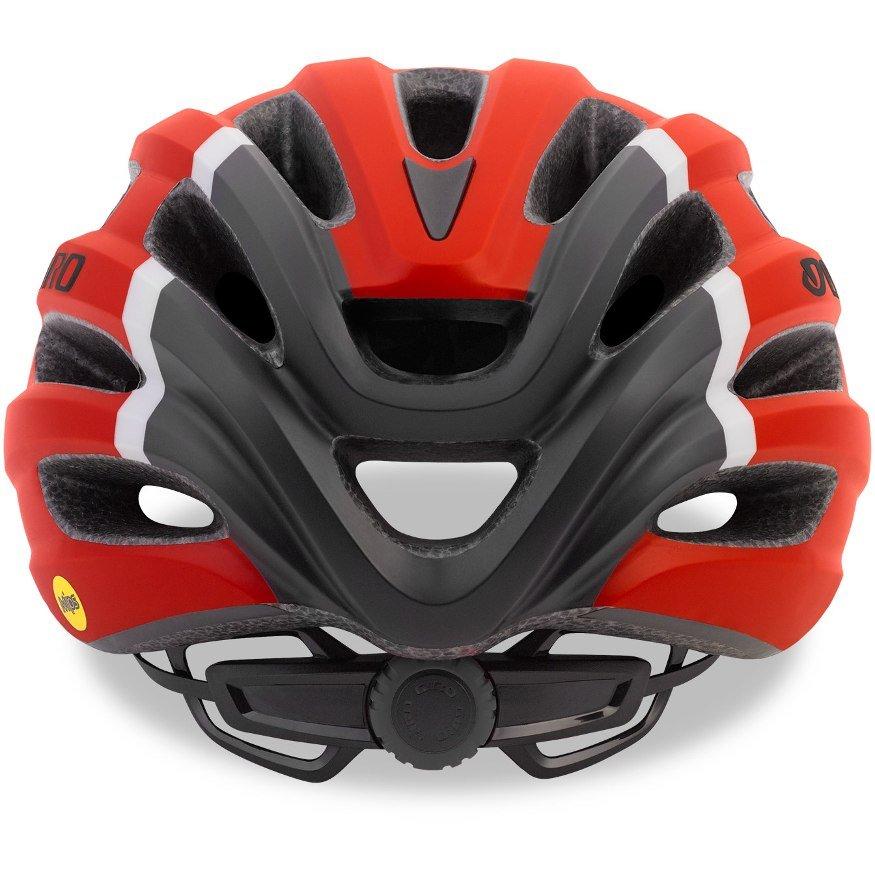 Шлем велосипедный Giro 18 HALE MTB, универсальный, матовый красный (Размер: U)