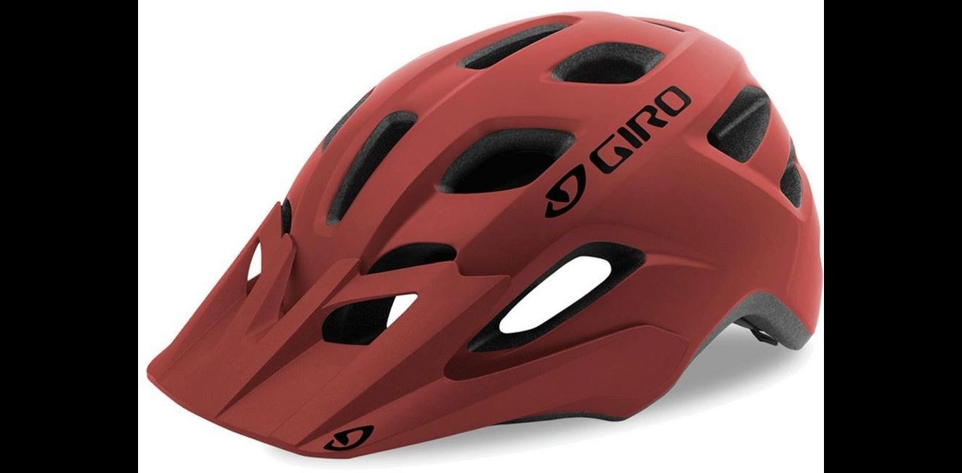 Шлем подростковый Giro 18 TREMOR MTB, матовый темно-красный (Размер: U)