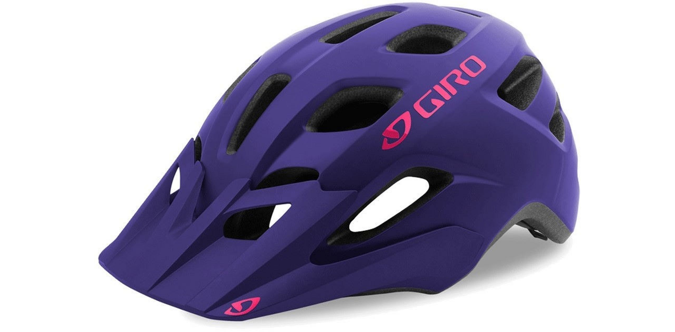 Шлем подростковый Giro 18 TREMOR MTB, матовый фиолетовый (Размер: U)