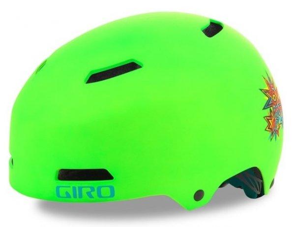 Шлем детский Giro 18 DIME FS BMX, матовый зеленый (Размер: XS)