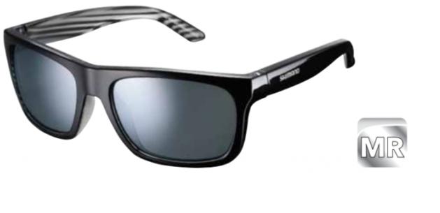 Велосипедные очки Shimano TOKYO, черно-серебристый, ECETKYO1MRBL