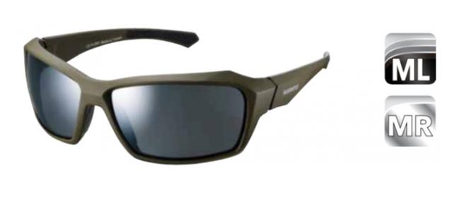Велосипедные очки Shimano PULSAR, оливковая матовая оправа, ECEPLSR1MRMG2