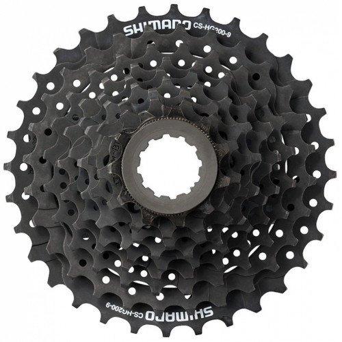 Кассета SHIMANO, 9 скоростей, ACSHG2009132 ALTUS, 9х11-32 HG, черно-коричневый, 2-8033