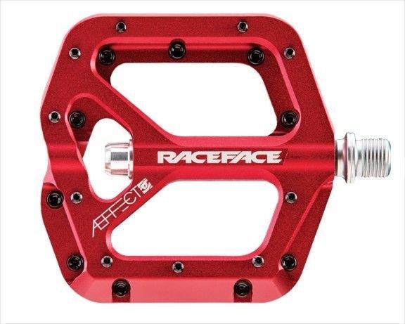 Педали Race Face Aeffect, красный, PD13AERED