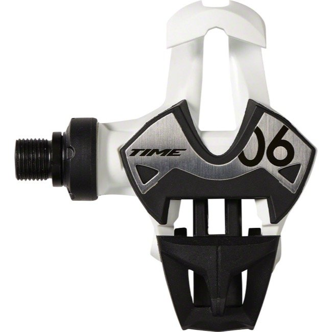 Педали контактные TIME Xpresso 6, белый, T2GR007