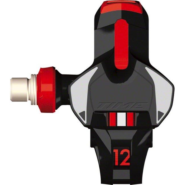 Педали контактные TIME Xpro 12, черно-красный, T2GR002