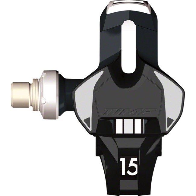 Педали контактные TIME Xpro 15, черно-белый, T2GR001