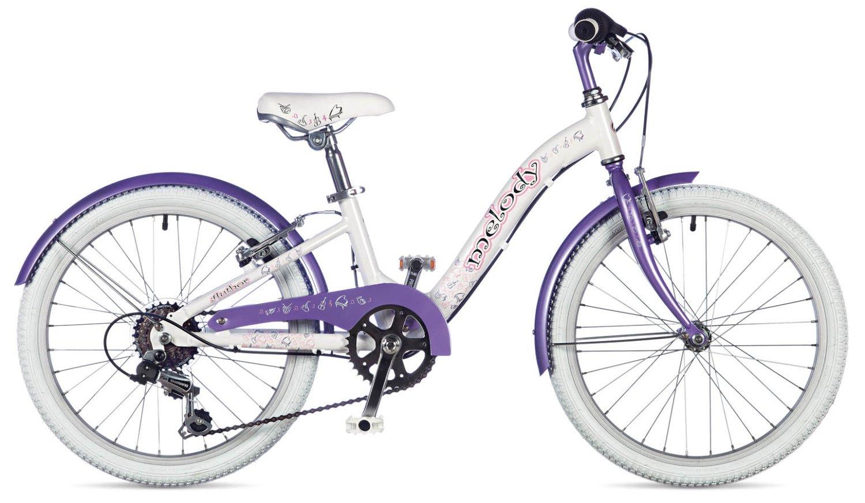 """Детский велосипед Author Melody 20"""" 2019 (Рама: 10"""" (Рост: 115 - 135 см), Цвет: белый)"""