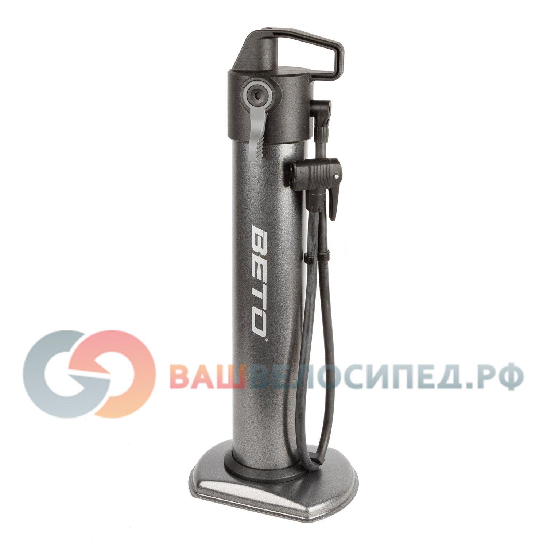 Балон напольный велосипедный BETO AIR TANK, 13бар/190PSI,  черный, 5-470336