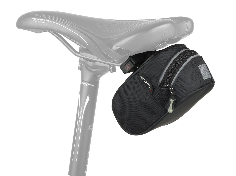 Велосипедный подсумок подрамный AUTHOR A-S381 QF9 X7, 21x4,5 x14cm, объем: 1л, черный, 8-15002123