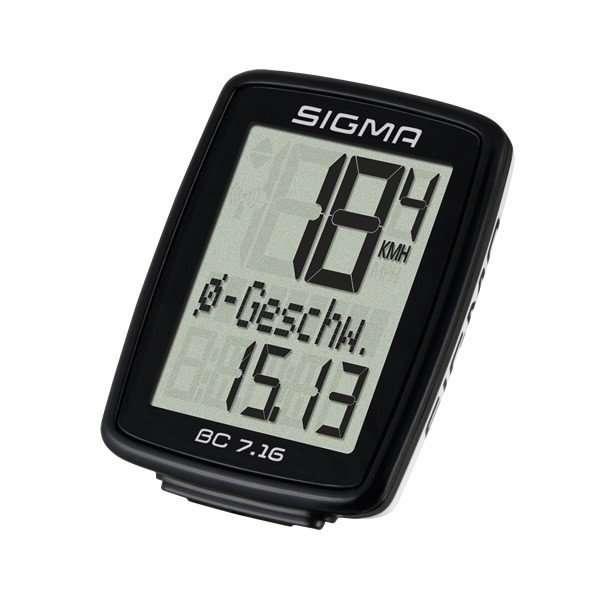 Велокомпьютер Sigma Sport BC 7.16, 07160