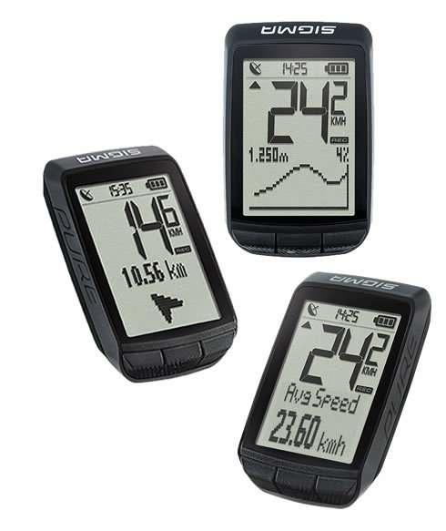 Велокомпьютер Sigma Sport PURE GPS ALTI, 03200