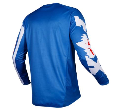 Велоджерси Fox 180 Cota Jersey, синий 2019 (Размер: L )