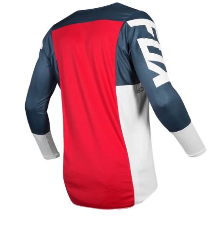 Велоджерси Fox 180 Przm Jersey, сине-красный 2019 (Размер: XL )