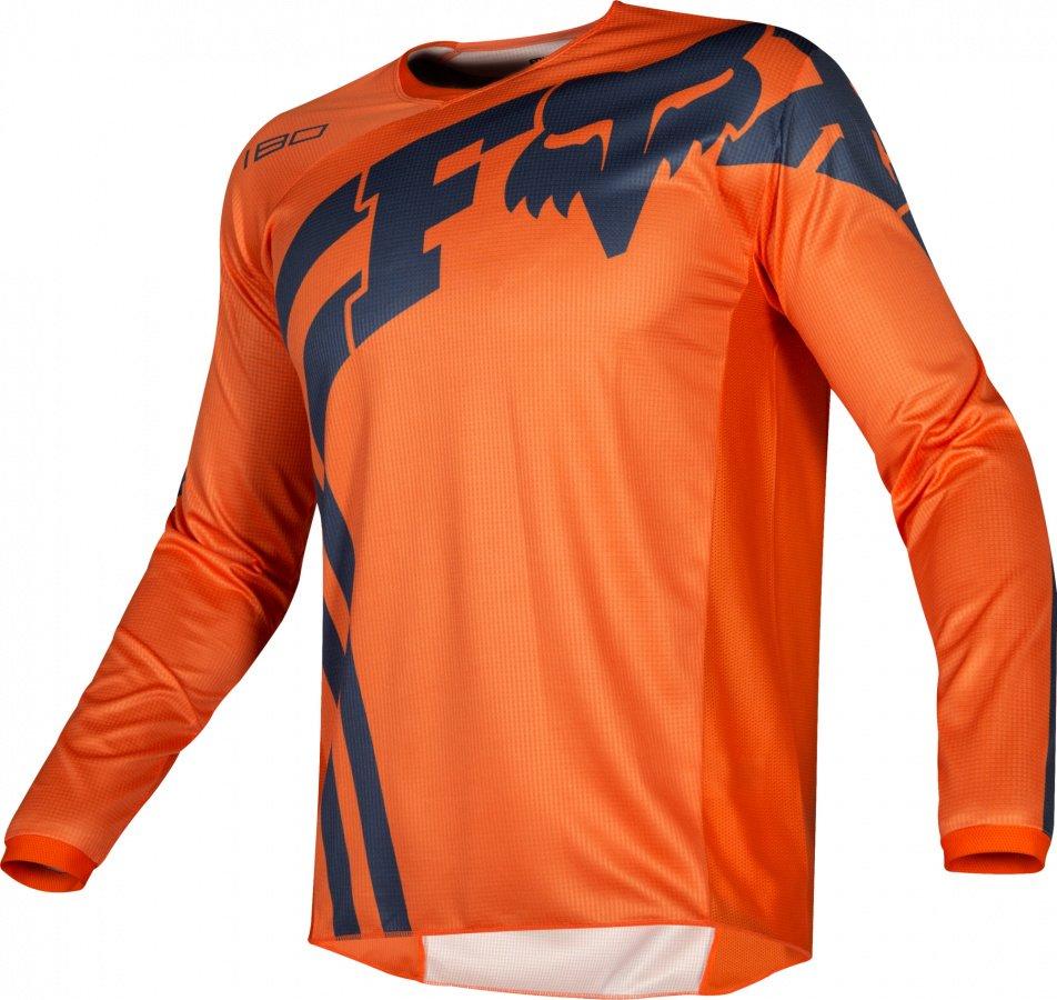 Велоджерси подростковая Fox 180 Cota Youth Jersey, оранжевый 2019 (Размер: M )