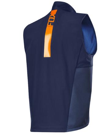 Веложилет Fox Legion Vest, голубой 2018 (Размер: S )