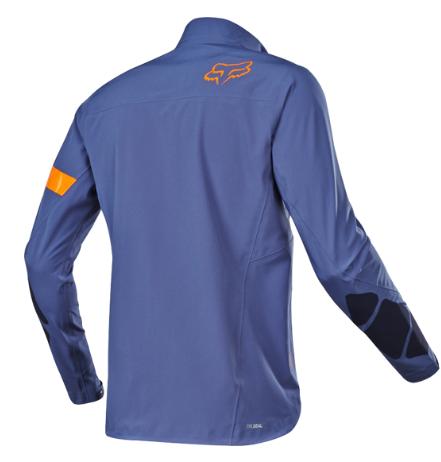 Велокуртка Fox Legion Downpour Jacket, синий 2018 (Размер: L)