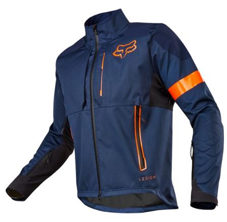 Купить со скидкой Велокуртка Fox Legion Jacket, голубой 2018 (Размер: M)