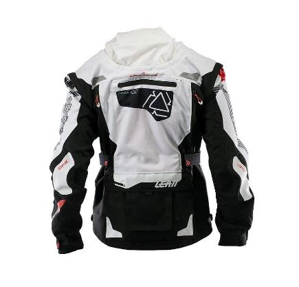 Велокуртка Leatt GPX 5.5 Enduro Jacket, бело-черный 2018 (Размер: M)
