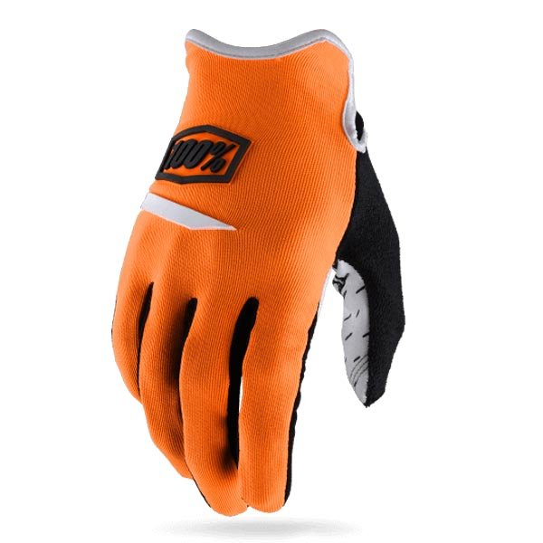 Велоперчатки 100% Ridecamp Glove, оранжевый 2018 (Размер: L )