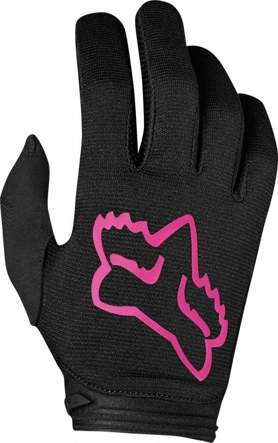 Велоперчатки подростковые Fox Dirtpaw Mata Girls Youth Glove, черно-розовый 2019 (Размер: XS )