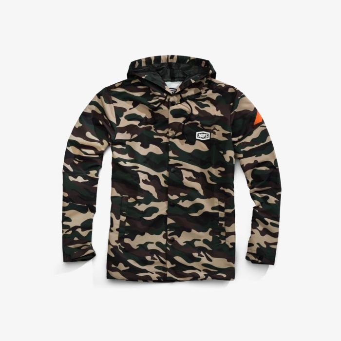 Куртка 100% Apache Hooded Snap Jacket Camo 2018 (Размер: M )