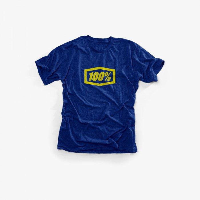 Футболка подростковая 100% Essential Youth Tee-Shirt, синий 2018 (Размер: YL )