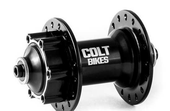 Втулка передняя Colt Bikes CUP 2018, 32H QR, черный