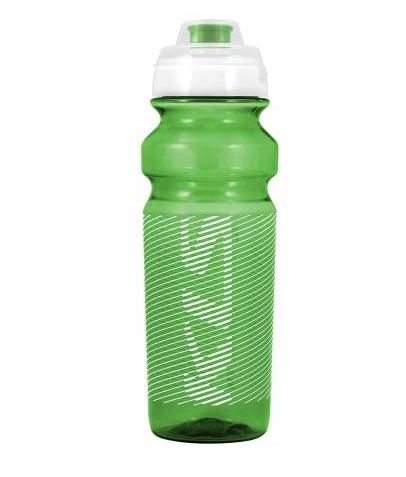 Фляга велосипедная KLS TULAROSA обьём 0,75 л, для напитков без СО2, до 40°С, зелёная, вес 95г