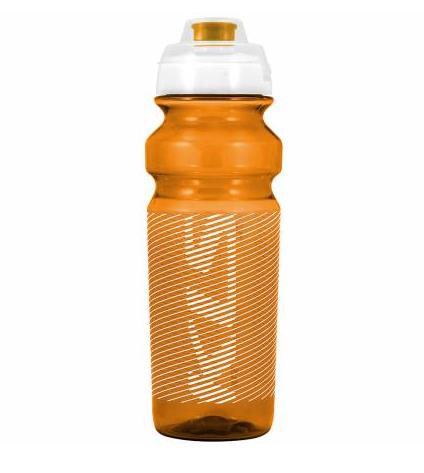 Фляга велосипедная KLS TULAROSA обьём 0,75 л, для напитков без СО2, до 40°С, оранжевая, вес 95г
