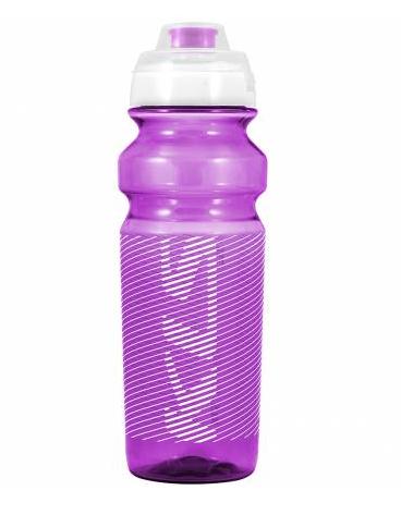 Фляга велосипедная KLS TULAROSA обьём 0,75 л, для напитков без СО2, до 40°С, розовая, вес 95г