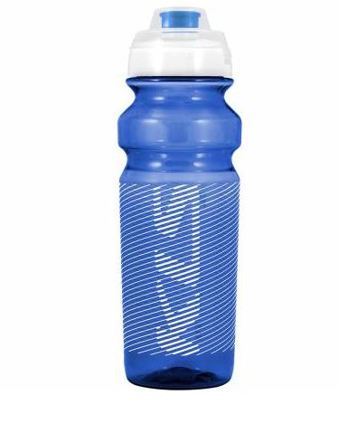 Фляга велосипедная KLS TULAROSA обьём 0,75 л, для напитков без СО2, до 40°С, синяя, вес 95г