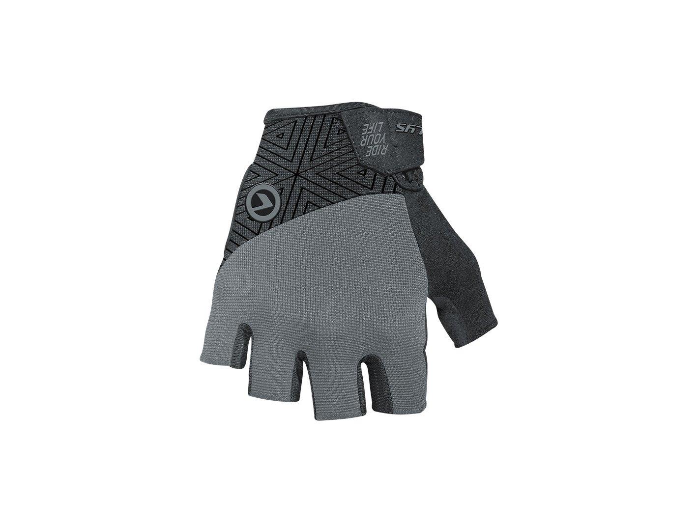 Перчатки велосипедные HYPNO Short, серые (Размер: L)