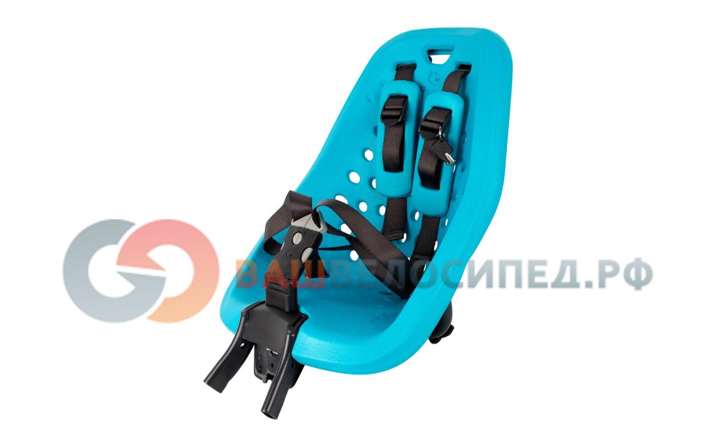 Детское велосипедное кресло Thule Yepp Mini, на руль, цвет морской волны, 12020113