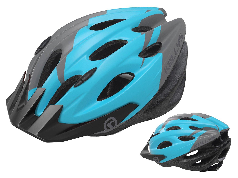 Шлем велосипедный KELLYS BLAZE для MTB-XC, матовый синий (Размер: S/M (54-57см))