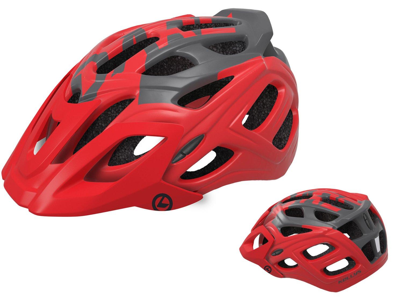 Шлем велосипедный KELLYS DARE туристический, матовый красный (Размер: S/M (54-57см))