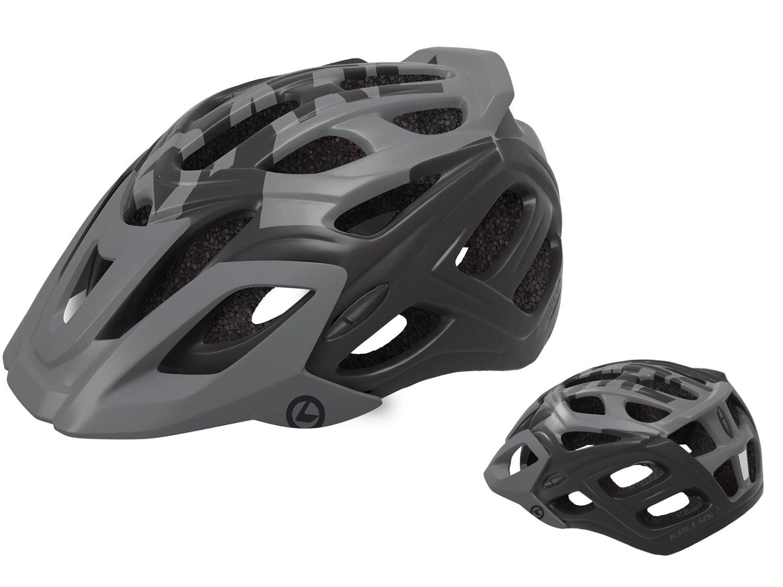 Шлем велосипедный KELLYS DARE туристический, матовый чёрный (Размер: M/L (58-61см))
