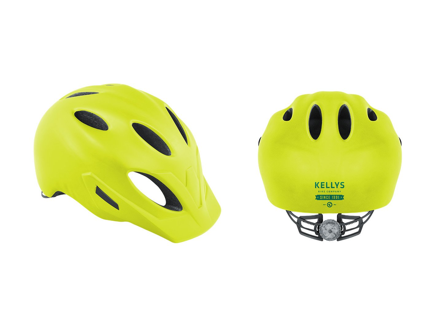 Шлем велосипедный SLEEK, желтый  (Размер: S/M (54-57 cm))