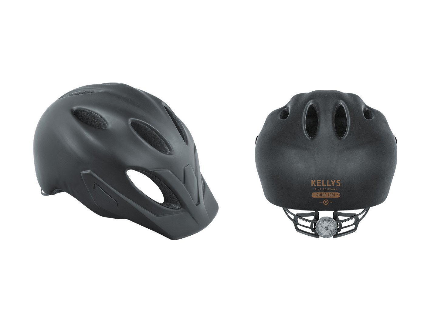 Шлем велосипедный SLEEK, черный матовый (Размер: M/L (57-61 cm))