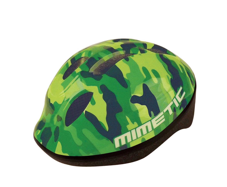 Шлем велосипедный детский BELLELLI зелёный камуфляж (Размер: M)