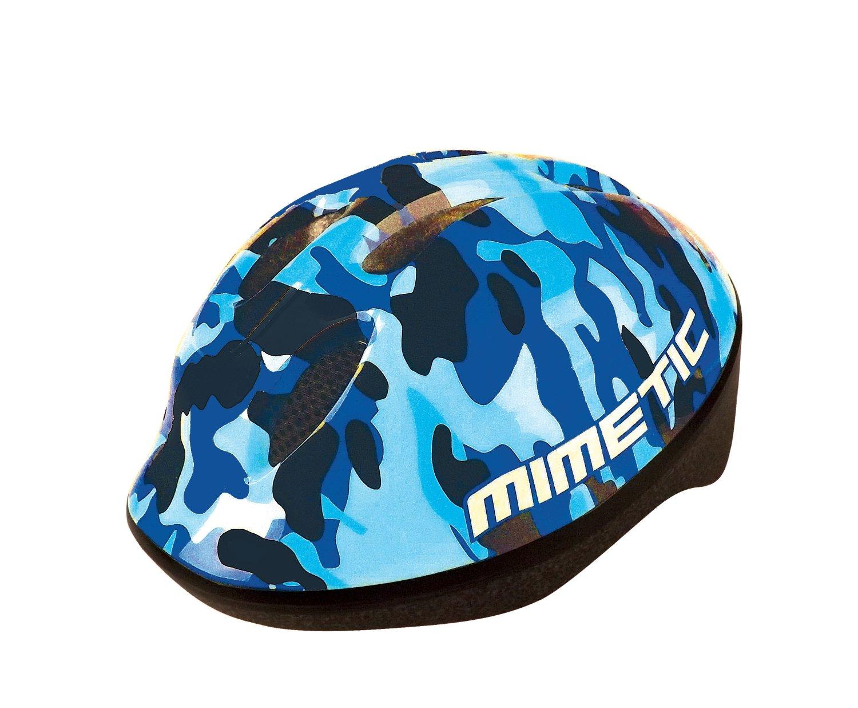 Шлем велосипедный детский BELLELLI, синий камуфляж (Размер: S)